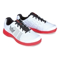 Brunswick Bowling Products Brunswick Mens Fuze Bowling Shoes- White/Red