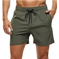 Tyhengta Mens Swim Trunks Quick Dry Beach Shorts with Zipper Pockets and Mesh Lining