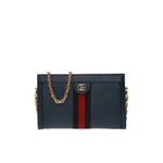 Gucci Ophidia Small Shoulder Bag in Blue