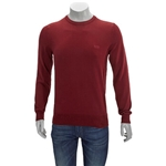 Hugo Boss Mens Pure Cotton Crewneck Knitted Sweater