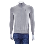 Polo Ralph Lauren Mens Logo Embroidered Sweater in Grey