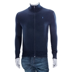 Polo Ralph Lauren Mens Logo Embroidered Sweater in Blue