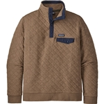 Patagonia Organic Cotton Quilt Snap-T Fleece Pullover - Mens
