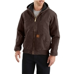 Carhartt 104050 Quilt-Lined Duck Active Jacket - Insulated, Factory Seconds (For Men)