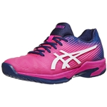 Asics Solution Speed FF Pink/Navy Blue Womens Shoes