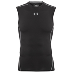 Under Armour Mens HeatGear Compression Sleeveless Top