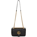 Gucci Black Small Marmont Bag