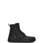 Diesel Black H-Rua AM Lace-Up Boots