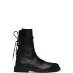 Ann Demeulemeester Black Back Lace-Up Tucson Boots