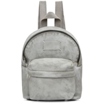 Maison Margiela White Mini Microsuede Backpack