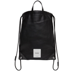 Maison Margiela Black Zero Impact Drawstring Backpack