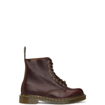Dr. Martens Burgundy Made In England 1460 Lace-Up Boots