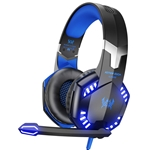 VersionTECH. Stereo Gaming Headset for PS4 Xbox One Controller, Noise Reduction Over Ear Headphones with Mic, Bass Surround & LED Lights for Laptop PC Mac PS3 and Nintendo Switch G