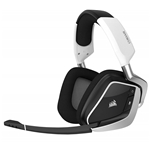 Corsair CORSAIR Void PRO RGB Wireless Gaming Headset - Dolby 7.1 Surround Sound Headphones for PC - Discord Certified - 50mm Drivers - Carbon
