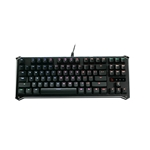 BLOODY B975 Light Strike Optical Gaming Keyboard (Tactile & Clicky) - Faster Than Mechanical - 0.2ms Key Response, 1:1 Raw Input, Fully Programmable RGB LED Backlit [9HUNDRED Series]