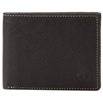 Timberland Mens Leather Wallet with Attached Flip Pocket