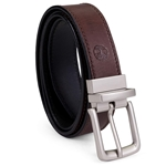 Timberland Mens Classic Leather Belt Reversible From Brown To Black