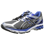 ASICS Mens GT-1000 3 Synthetic Running Shoe