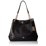 Coach COACH Womens Turnlock Edie Li/Black One Size