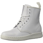 Dr.+Martens Dr. Martens Womens Newton Mono White Fashion Boot