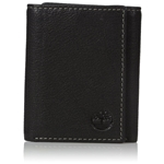 Timberland Mens Leather Rfid Blocking Trifold Security Wallet