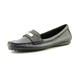 Coach Womens Fredrica Pebble Leather Closed Toe Boat Shoes