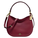 Coach Womens Leather Nomad Crossbody Bag