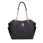 MICHAEL Michael Kors Womens Jet Set Travel Saffiano Large Chain Shoulder Tote, Style 35T5GTVT3L