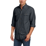 Carhartt Mens Fort Lightweight Chambray Button Front Relaxed Fit LS Shirt S202