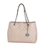 MICHAEL Michael Kors Susannah Womens Large Quilted Leather Handbag TOTE