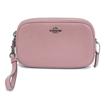 Coach COACH Womens Pebbled Crossbody Clutch