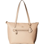 Coach COACH Womens Pebbled Taylor Tote