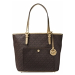 MICHAEL Michael Kors Michael Kors Mk Jet Set Signature Shoulder Bag