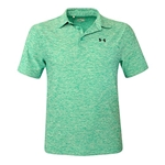 Under Armour Mens UA Elevated Heather Polo Shirt