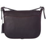 Coach Womens Leather 18 Saddle Bag