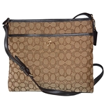 Coach COACH F58285 FILE BAG IN OUTLINE SIGNATURE