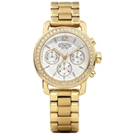 Coach 14501883 Ladies Legacy Sport Small Yellow Chronograph Watch