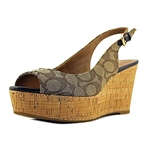 Coach Womens Ferry Wedged Sandals