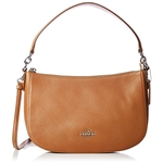 Coach COACH Womens Pebble Chelsea Crossbody