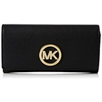 Michael Kors Womens Fulton Carryall Leather Wallet