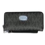 Michael Kors Jet Set Travel Zip Around Travel Wallet Wristlet