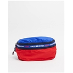 Asos Tommy Hilfiger Sport backpack in a fanny pack in navy/red/white