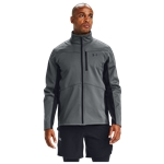 Under Armour ColdGear Infared Shield Full-Zip Hybrid Jacket - Mens / Pitch Grey/Black