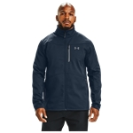 Under Armour ColdGear Infared Shield Full-Zip Hybrid Jacket - Mens / Academy/Pitch Grey