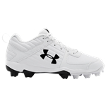 Under Armour Leadoff Low RM Jr - Boys Grade School / White/Metallic Silver/Black