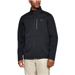 Under Armour ColdGear Infared Shield Full-Zip Hybrid Jacket - Mens / Black/Pitch Grey