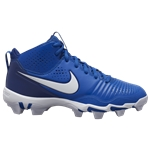 Nike Alpha Huarache 3 Varsity Mid Keystone - Boys Grade School / Game Royal/White/Deep Royal Blue