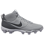 Nike Alpha Huarache 3 Varsity Mid Keystone - Mens / Light Smoke Grey/Iron Grey/Smoke Grey