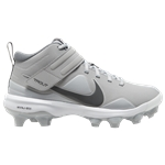 Nike Force Trout 7 MCS - Boys Grade School / Lt Smoke Grey/Iron Grey/White