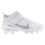 Nike Force Trout 7 MCS - Boys Grade School / White/Lt Smoke Grey/White